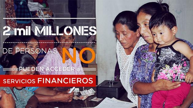 6 razones por las que es indispensable fomentar la inclusión financiera en el mundo