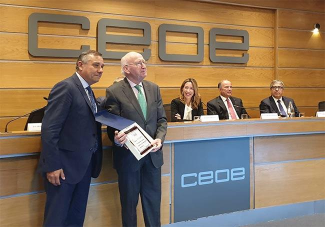 Entrega Premio Cámara Comercio Perú