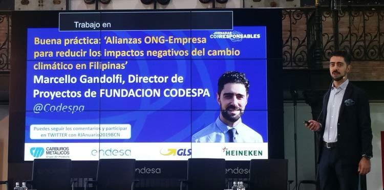 CODESPA participa en la Jornada Corresponsables en Barcelona