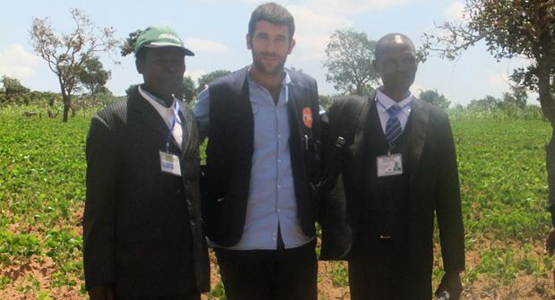 """Borja Monreal, delegado en Angola: """"Como resultado más importante, se están legalizando tierras a favor de comunidades campesinas"""""""