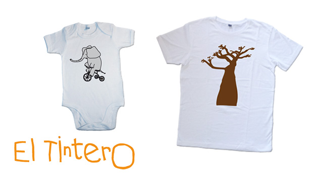 El Tintero crea una camiseta y un body de bebé solidarios por Angola