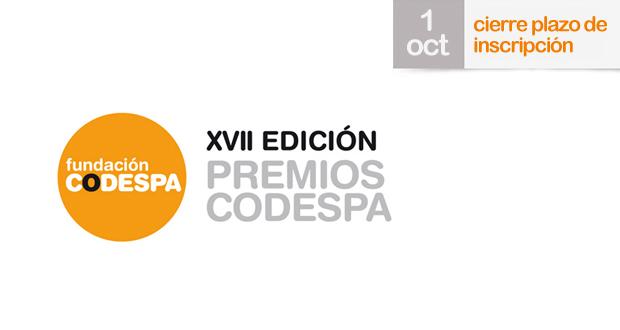 Cerrado el plazo para presentar candidaturas a los Premios CODESPA