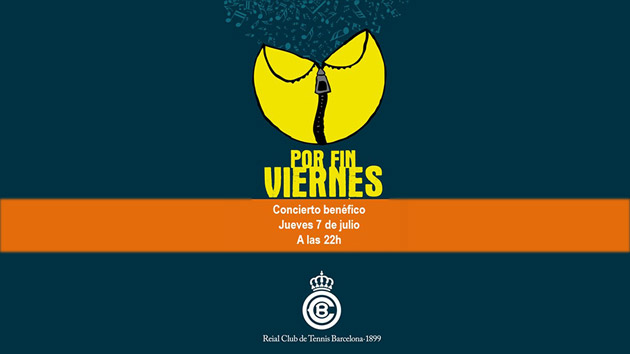 """Ven a nuestro concierto benéfico de """"Por fin viernes"""" en Barcelona"""