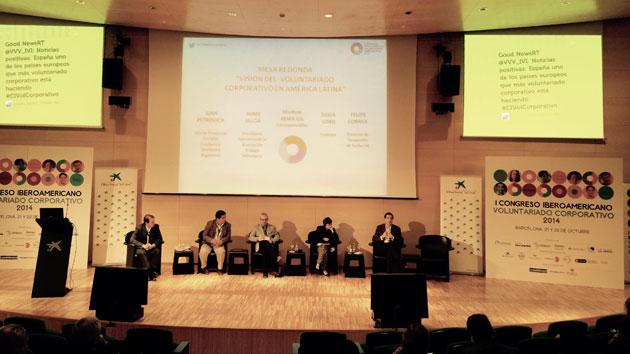 Participamos en el I Congreso Iberoamericano de Voluntariado Corporativo