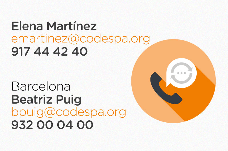 Contacta con Fundación CODESPA