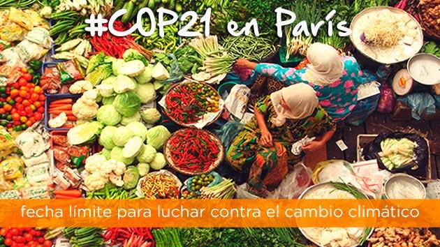 COP21: fecha límite para luchar contra el cambio climático