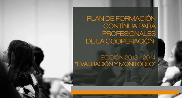 """Abierto el plazo de inscripción para el curso """"Evaluación y monitoreo"""" dentro de la cooperación al desarrollo"""