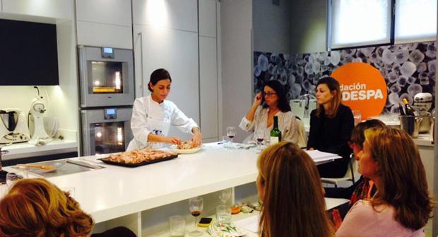 Escuela de cocina TELVA y CODESPA organizamos un taller solidario a beneficio de comunidades indígenas en Perú