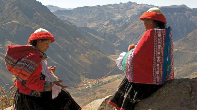 Familias indígenas peruanas entran a formar parte del sector del turismo de convenciones y eventos