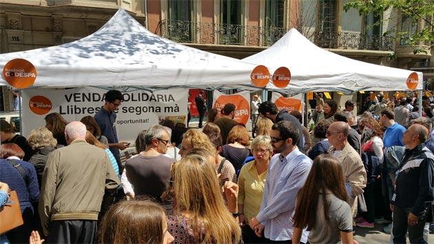 La Diada de Sant Jordi, un éxito para CODESPA