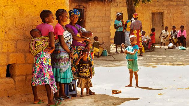 La situación de las mujeres en Angola