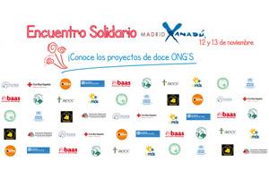 CODESPA participará en el Encuentro de Proyectos Solidarios de Xanadú en Madrid