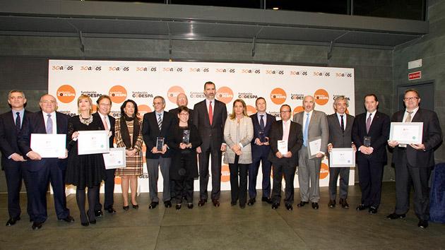 Las 5 empresas y periodistas más solidarios de 2014: ganadores de los Premios CODESPA