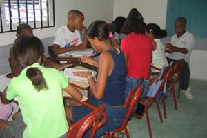 Escolarización infantil en Santo Domingo
