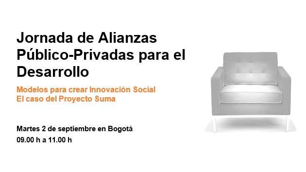 Organizamos unas jornadas sobre Alianzas Público-Privadas para el Desarrollo en Bogotá