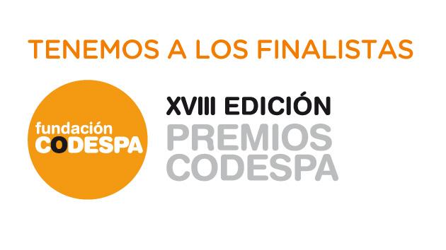 Aumenta la solidaridad: finalistas de la XVIII edición Premios CODESPA