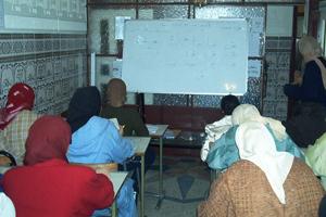 Formación e inserción socio-profesional de mujeres en situación de riesgo en Marruecos
