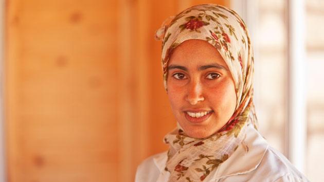 La formación profesional ha cambiado el futuro de Haja en Marruecos #unahistoriaquecontar