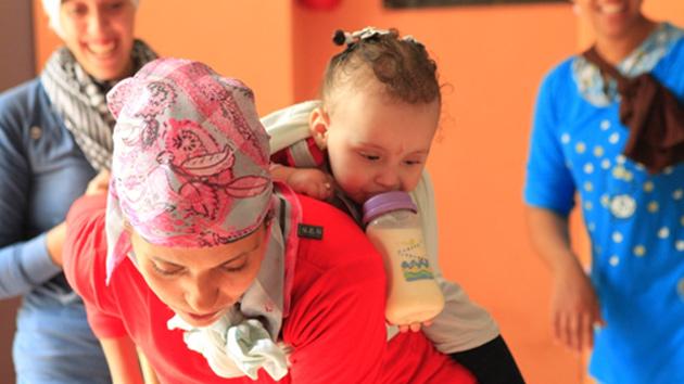 """Nueva financiación para el proyecto """"100% mamás"""" en Marruecos"""