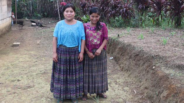 Ayudamos a comunidades rurales en Guatemala en la conservación de los recursos naturales