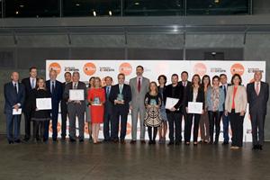 Prosegur, Exper Timing System, IBM y RNE, ganadores de la XVI edición de los premios CODESPA