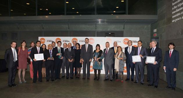 Haug, Pascual, Ferrovial, Estudio Álvaro Catalán de Ocón e Informe Semanal, ganadores de los Premios CODESPA