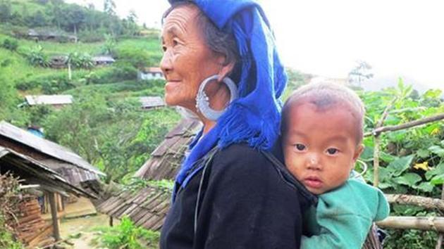 Ahora Giang Thi Dua tiene una letrina, una oportunidad para que su familia reduzca el 80% de las enfermedades que contraían