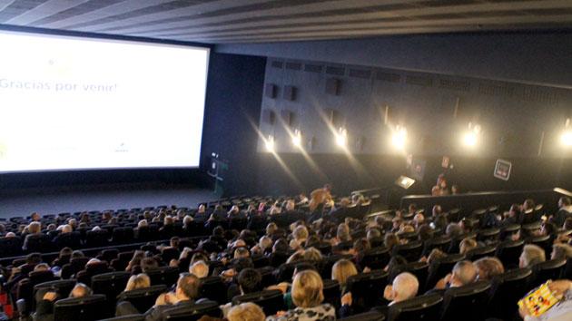 Gracias por acompañarnos en el preestreno de cine solidario