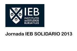 Participamos en la Jornada IEB SOLIDARIO