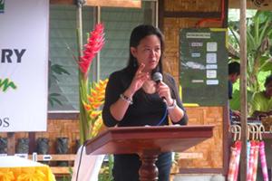 Se inaugura el vivero de caucho en Agusán del Sur