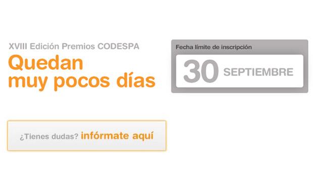 Tu compromiso social tiene premio: XVIII edición de los Premios CODESPA