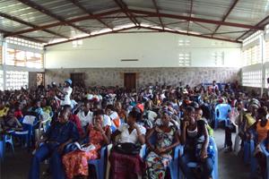 Se celebra el Día de la Mujer con una jornada de sensibilización en la Rep. Democrática del Congo