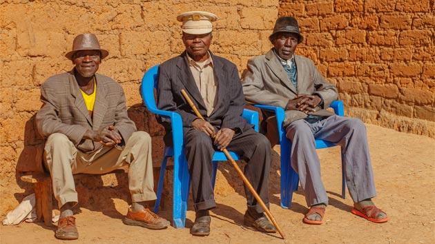Las aldeas y los sobas en Angola
