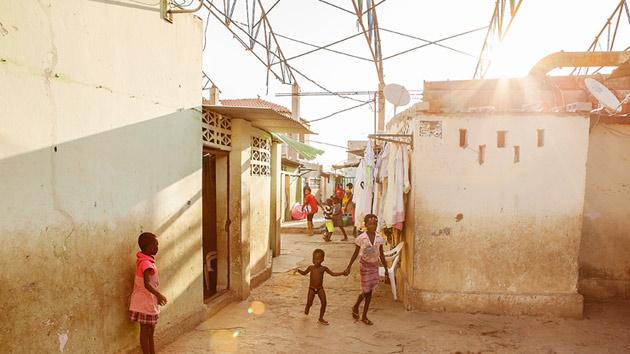 Patrice, una historia del barrio de Samba, Luanda