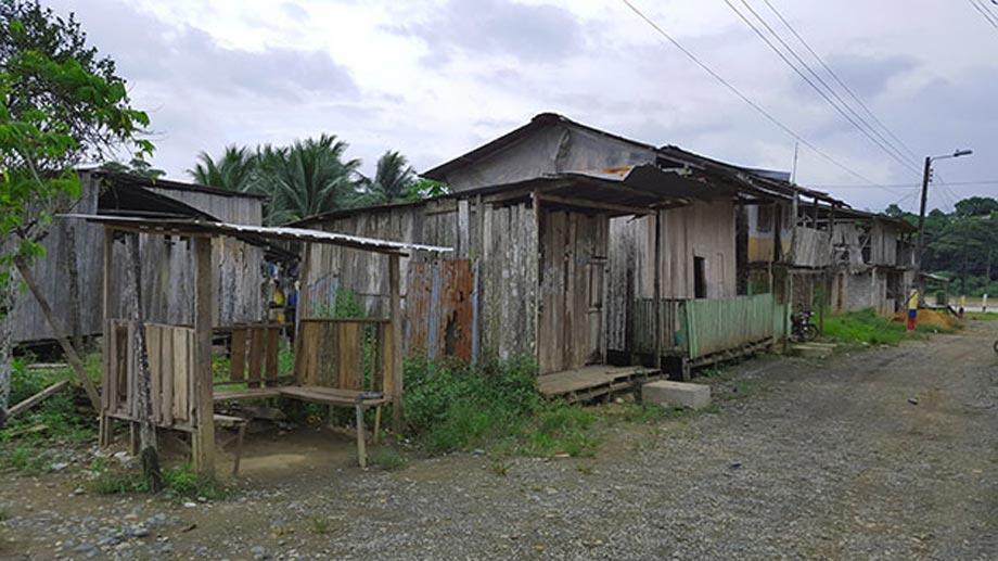 Maldonado, en la provincia de Esmeraldas (Ecuador)