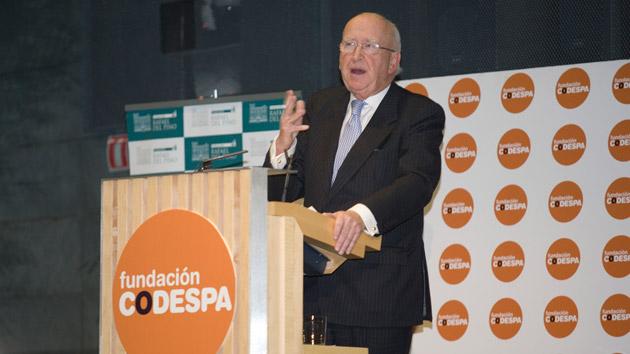 """Manuel Herrando Prat de la Riba: """"Es fundamental que todos nos unamos en la lucha contra la pobreza para conseguir grandes cambios"""""""
