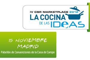 Participamos en el CSR MarketPlace 2012 de Forética