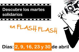 Ponemos en marcha los Martes Solidarios con el restaurante Flash Flash