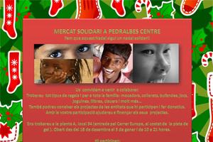 Participamos en el Mercado solidario del Pedralbes Centre de Barcelona