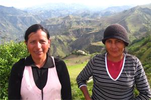 Campesinos de Ecuador mejorarán su producción de granos gracias al acceso a microcréditos