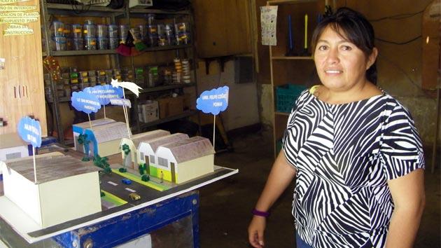 Microemprendedores que luchan contra la pobreza en Perú