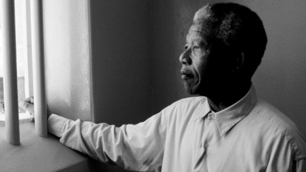 Nelson Mandela en la cárcel