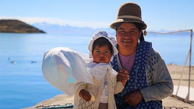 Turismo rural comunitario en el lago Titicaca, Bolivia