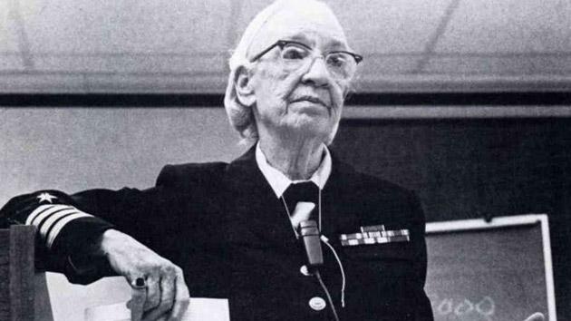 Grace Murray Hopper (1906-1992), pionera en las ciencias computacionales