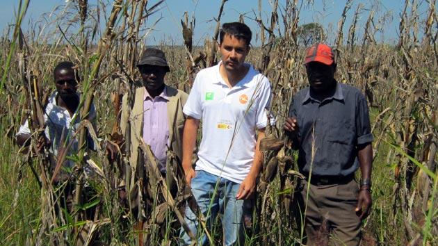 Juan Ramón, Delegado de Angola