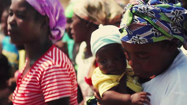 Talleres de cocina comunitarios en Angola