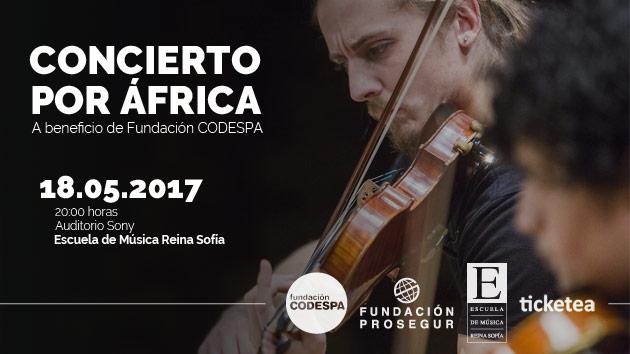 ¿Tienes plan para el 18 de mayo? ¡Vente a nuestro concierto por África!