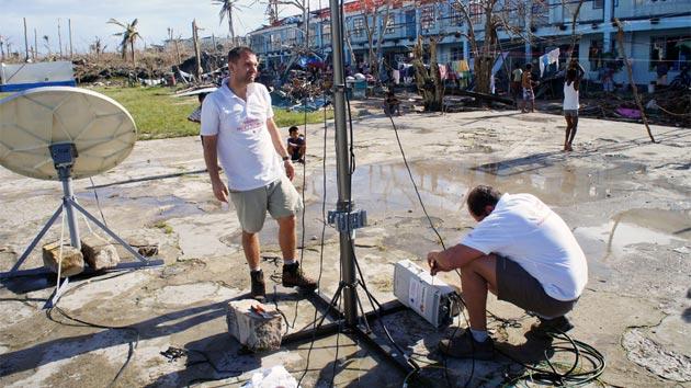 VODAFONE: La tecnología y los empleados al servicio de las poblaciones afectadas por catástrofes naturales