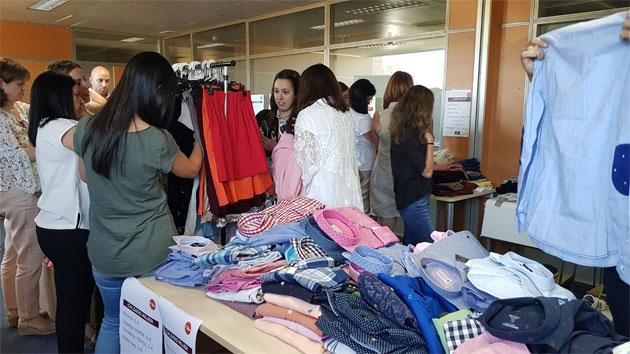Un mercadillo solidario para dar oportunidades a las mujeres más vulnerables