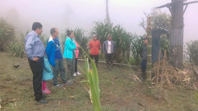 Voluntarios de la Caixa en Ecuador